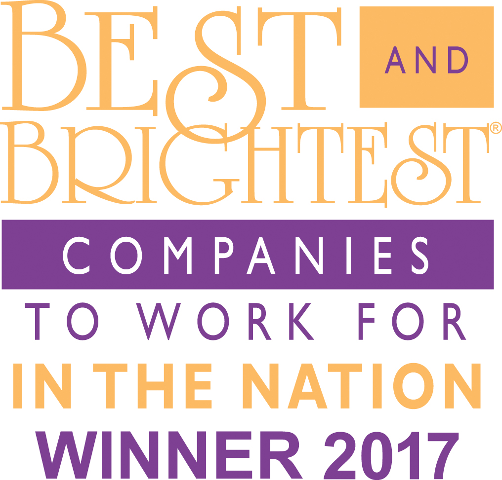 2017 National Winner for the Best and Brightest Companies to Work For logo